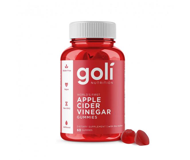 Goli Nutrition Apple Cider Vinegar Gummies 60 ks