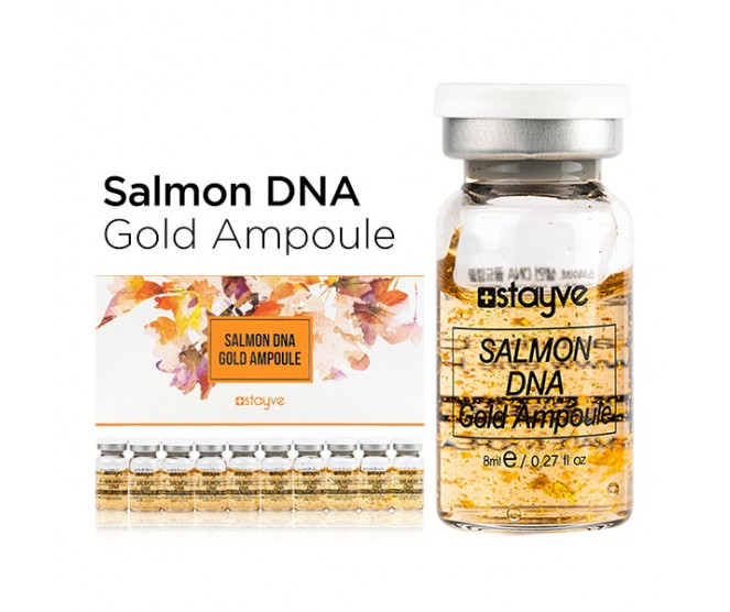 Stayve Salmon DNA Gold Ampoule 10 × 8 ml