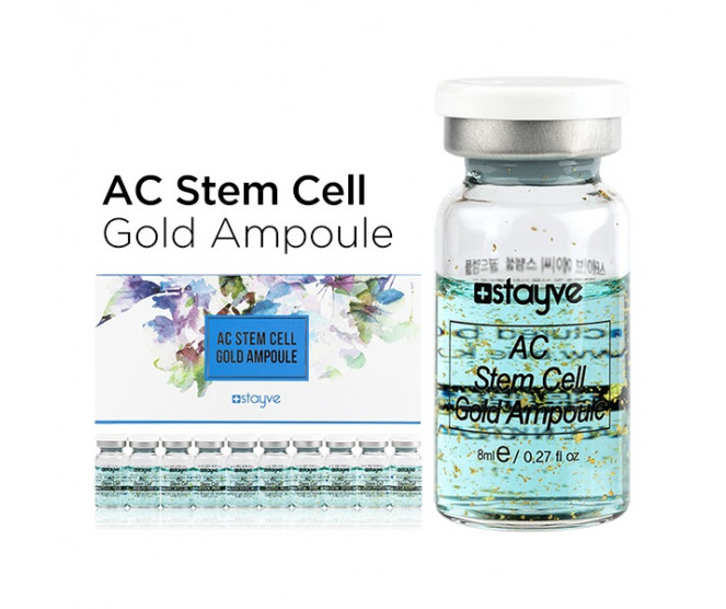 Stayve AC Stem Cell Gold Ampoule 10 × 8 ml