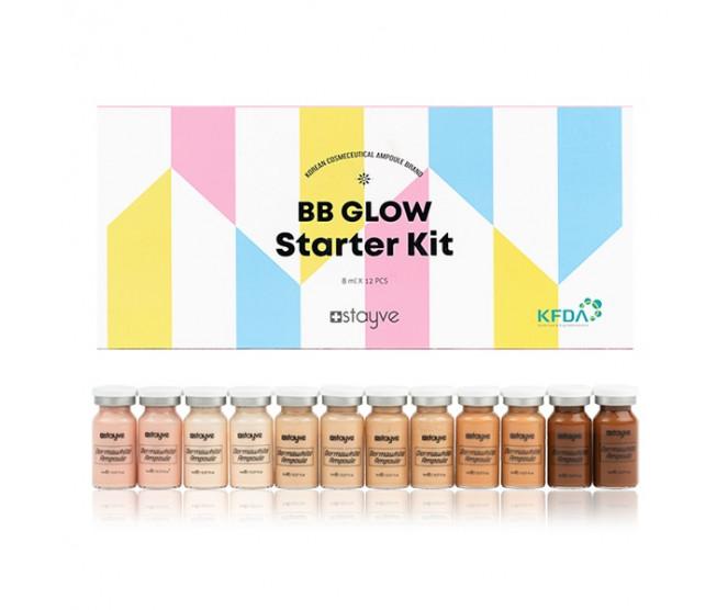 Stayve BB Glow Starter Kit 12 × 8 ml