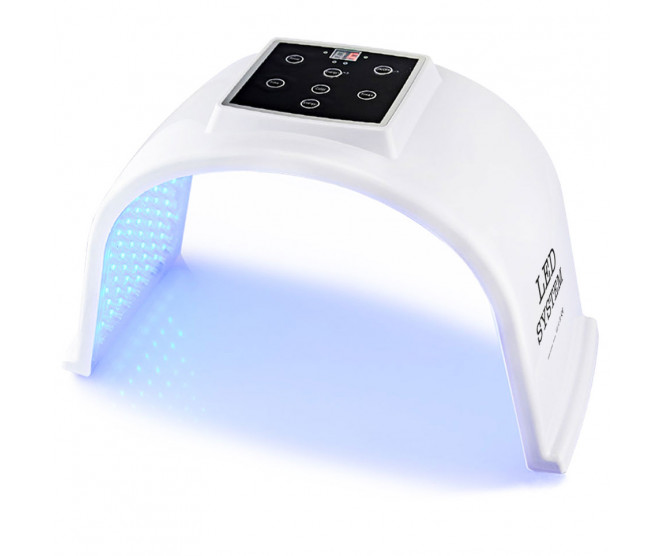 Omega Light LED light PDT fotonová dynamická terapie - kosmetický přístroj se 7 barvami světla