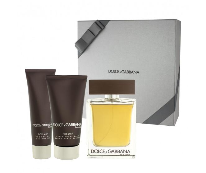 Dolce & Gabbana The One for Men EDT 100 ml + ASB 75 ml + SG 50 ml M