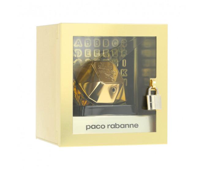 Paco Rabanne Lady Million EDP 80 ml + samolepící písmenka W
