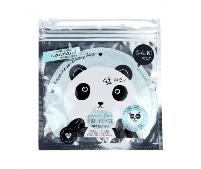 Oh K! Panda Face Fibre Mask 25 ml