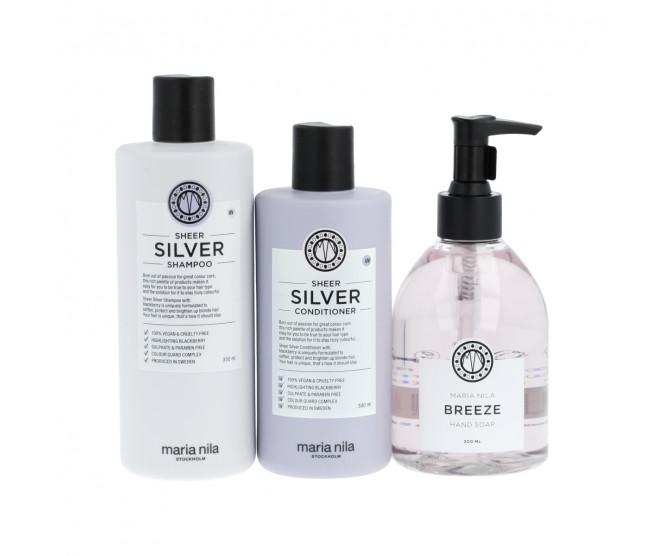 Maria Nila Sheer Silver Gift Set