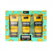 Xpel Banana Shampoo 100 ml + Conditoner 100 ml + Body Wash 100 ml