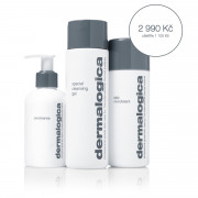 Dermalogica BACK TO BASIC PreCleanse 150 ml + Daily Microfoliant 74 g + Special Cleansing Gel 250 ml