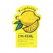 Tonymoly Brightening I'm Real Lemon Mask Sheet 21 g