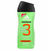 Adidas 3in1 Active Start sprchový gel na tělo i vlasy 250 ml M