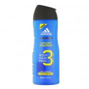 Adidas 3in1 Body Hair Face Shower Gel 400 ml