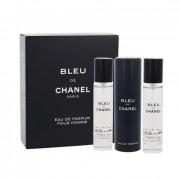 Chanel Bleu de Chanel EDP plnitelný 20 ml + EDP náplň 2 x 20 ml M
