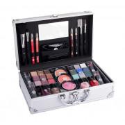 2K Fabulous Beauty Train Case Complete Makeup Palette