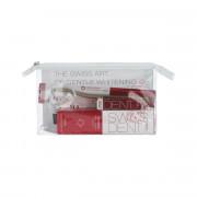 Swissdent Extreme Whitening Toothpaste 100 ml + Extreme Mouthspray 9 ml + kartáček Whitening Soft
